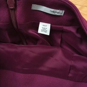 Halogen Skirts - Purple Halogen Seamed Pencil Skirt